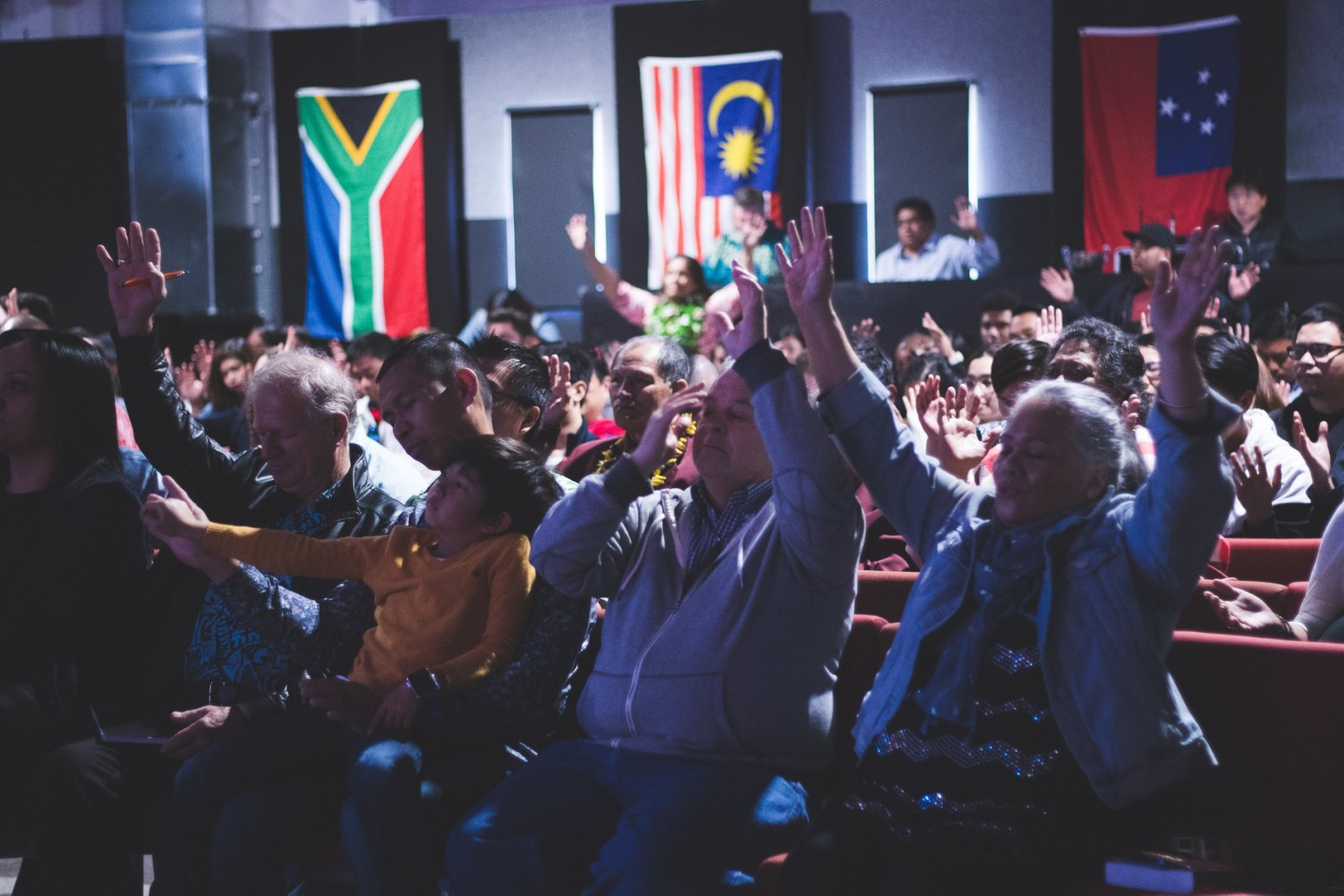 We Are a Multi-Cultural, Multi-Generational, Socially Responsible Church that Makes Disciples